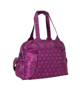 Lug Pontoon Weekender Bag Berry Purple