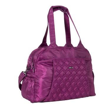 Lug Pontoon Weekender Bag Berry Purple