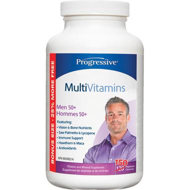Progressive MultiVitamin for Men 50+ Bonus Size