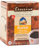 Teeccino Hazelnut & Almond Chicory Herbal Tea