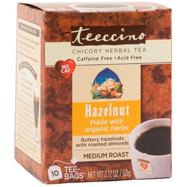 Teeccino Hazelnut & Almond Chicory Herbal Tea