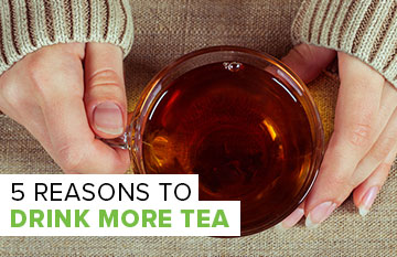 Reasons to Drink More Tea