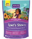 Halo Toy & Small Breed Dog Spot's Stew Turkey, Duck & Pheasant