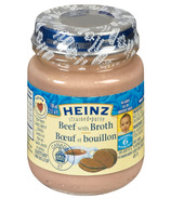 Heinz Strained Beef With Broth