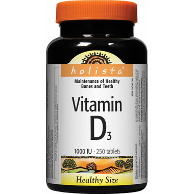Holista Vitamin D Healthy Size
