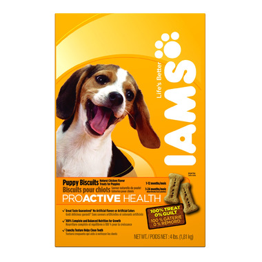 Iams ProActive Health Premium Puppy Biscuits