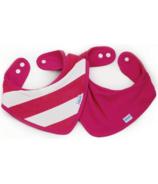 Bumkins Waterproof Bandana Pink Stripe
