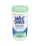 Wet Ones Sensitive Skin Hand & Face Wipes