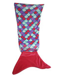 Karmin Mermaid Tail Blanket Pink