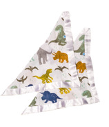 Little Unicorn Cotton Security Blankets Dino Friends