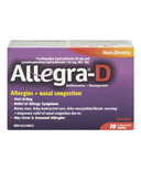 Allegra-D Allergies + Nasal Congestion Trial Pack