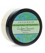 Lovefresh All-Natural Cream Deodorant Pot Eucalyptus Spearmint