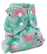 AppleCheeks Little Bundle Microterry Flamingle