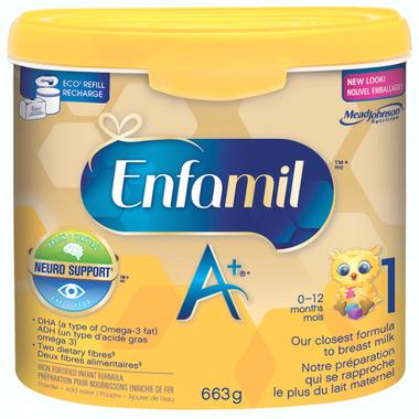 Enfamil A+ Powder Tub