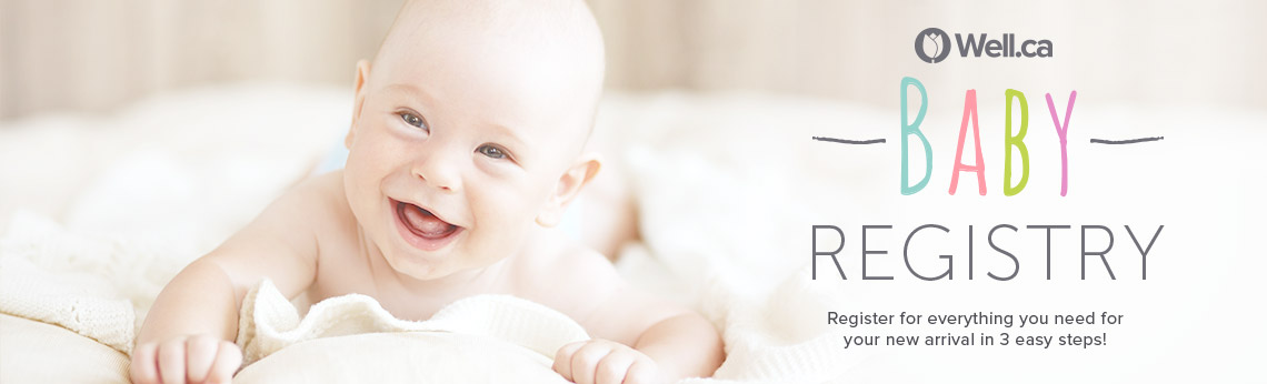 Make Your Baby Registry at Well.ca