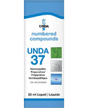 UNDA Numbered Compounds UNDA 37 Homeopathic Preparation