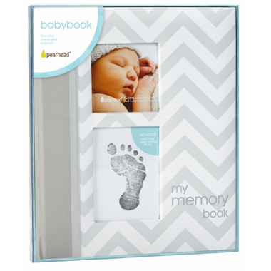 Pearhead My Memory Baby Book