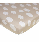 Lolli Living Fitted Sheet Amelia Clouds
