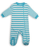 Juddlies Sleeper Scuba Blue Stripe