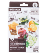 Naturally Upper Canada Face Mask Variety Pack