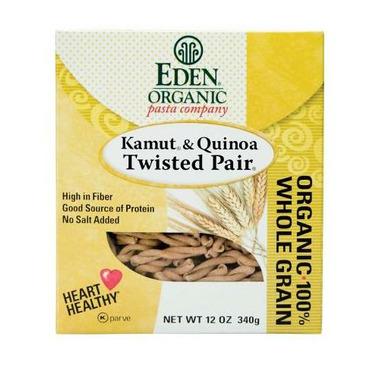 Eden Organic 100% Whole Grain Kamut & Quinoa Twisted Pair