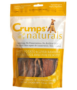 Crumps Naturals Sweet Potato & Liver Rawhide