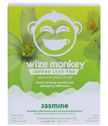 Wize Monkey Coffee Leaf Tea Jasmine