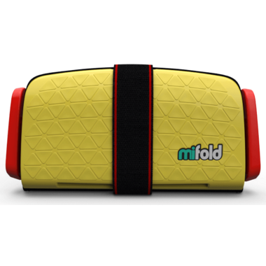 mifold Grab-and-Go Booster Seat Taxi Yellow