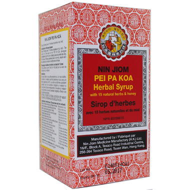 Buy Nin Jiom Pei Pa Koa Herbal Cough Syrup At Well Ca