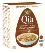 Nature's Path Qi'a Pure Oats Oatmeal Creamy Coconut