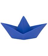 Goodnight Light Paper Boat Lamp Blue