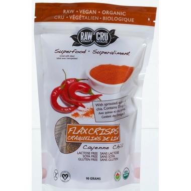 Raw Vitality Cayenne Chili Flax Crisps