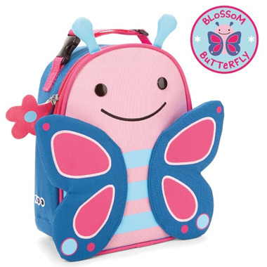 Skip Hop Zoo Lunchies Insulated Lunch Bag Butterfly