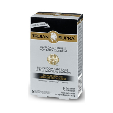 Trojan Supra Lubricated Condoms