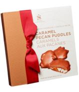 Saxon Chocolates Milk Chocolate Caramel Pecan Puddles Box