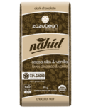 zazubean Nakid Dark Organic Chocolate Bar