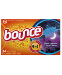 Bounce Sweet Dreams Dryer Sheets