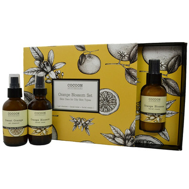 Cocoon Apothecary Orange Blossom Skin Care Set