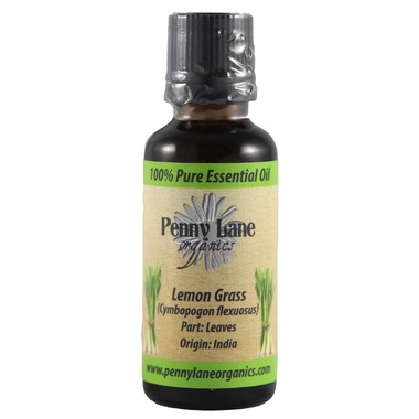 Penny Lane Organics Lemongrass Essential Oil