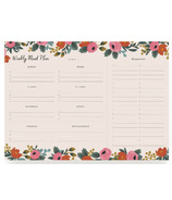 Rifle Paper Co. Weekly Meal Planner Notepad