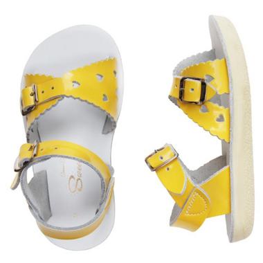 Salt Water Sandals Sweetheart Children\'s Sandal Yellow
