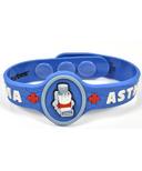Allermates Medical Alert Wristband for Asthma