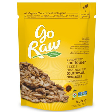 Go Raw Sprouted Sunflower Seeds