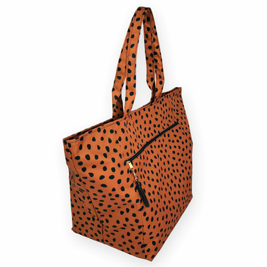 Logan and Lenora Waterproof Carryall Tote Meow
