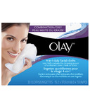 Olay 4-in-1 Daily Facial Cloths for Combination/Oily Skin