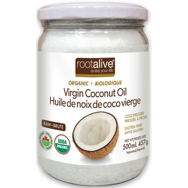 Rootalive Organic Virgin Coconut Oil