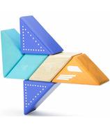 Tegu Magnetic Wooden Blocks Travel Pals Jet Plane