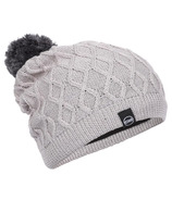 Kombi The Cable Slouch Junior Hat Silver Clouds