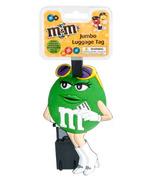 M&M's Jumbo Luggage Tag