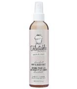 Be Delectable Vanilla & Cream Decadent Hair & Body Mist